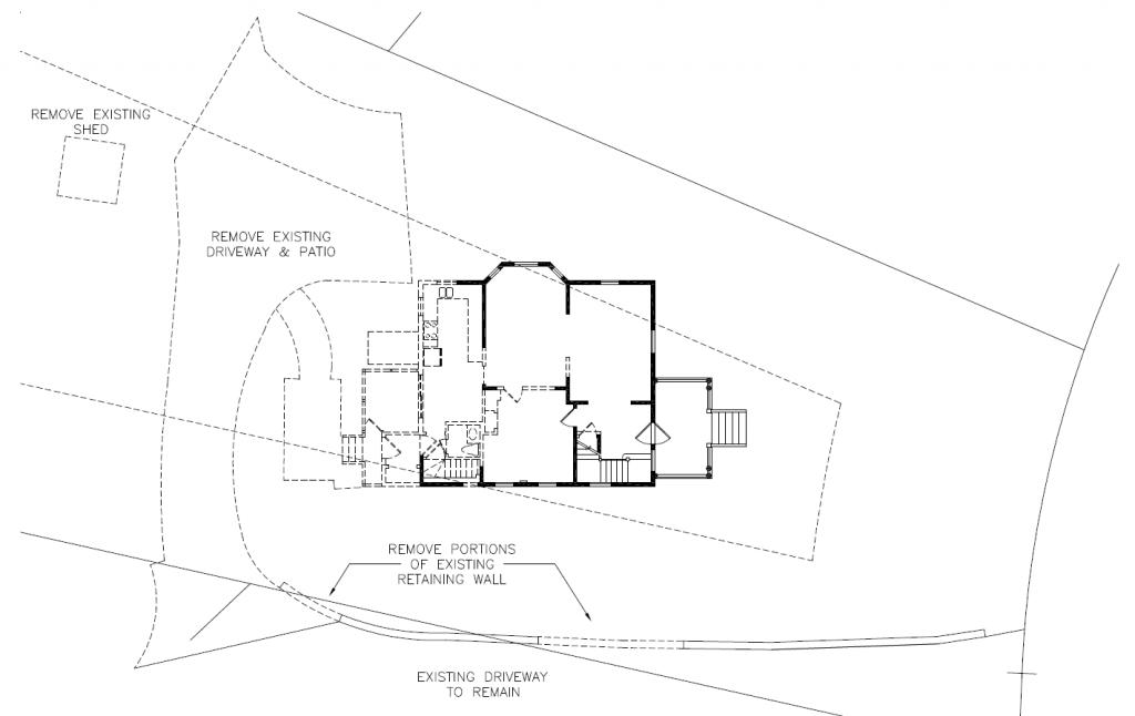 Demolition site plan